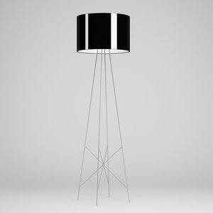 floor lamp 46 3d model