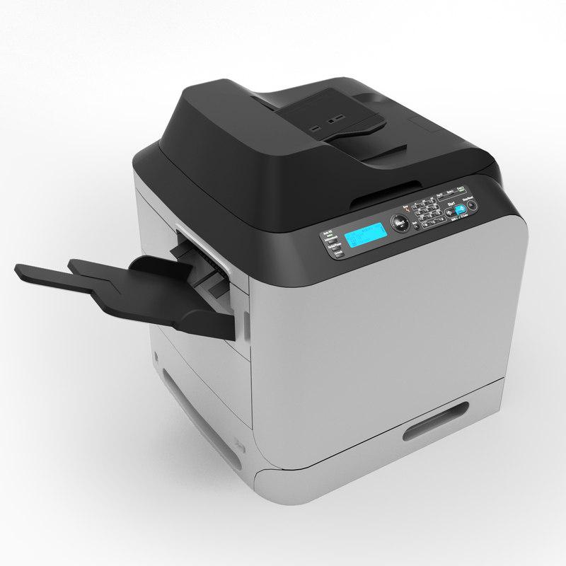 3d copier photocopier photo model