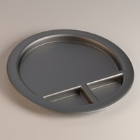 food bowl 3d model