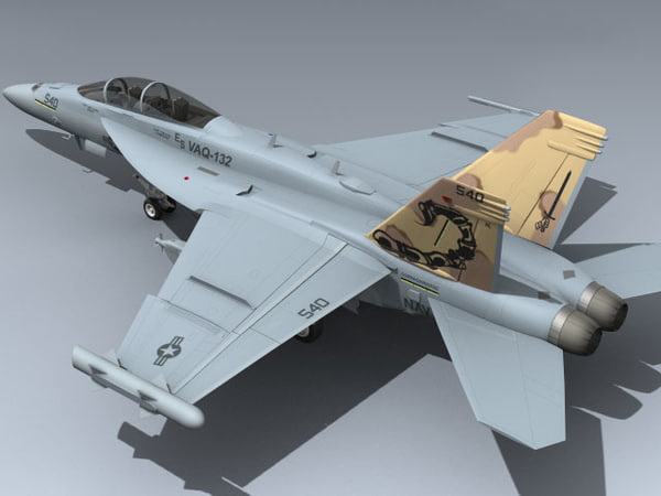 ea-18g growler 3d model