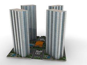3d condos tower