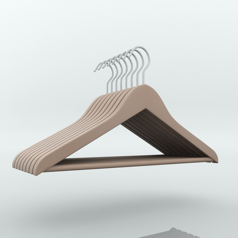 hangers hook 3d model