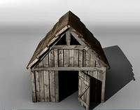 medieval stable 3d 3ds