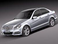 Mercedes-Benz C-Class sedan 2012