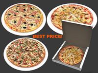 3d pizzas party
