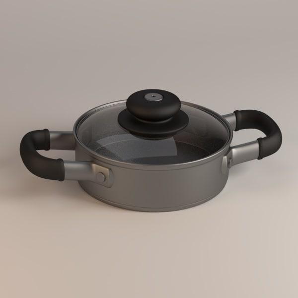 cooking pot 3d model