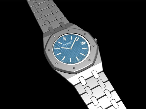 3d model of audemars piguet