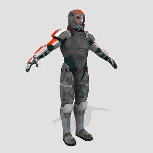 3d model fi games human