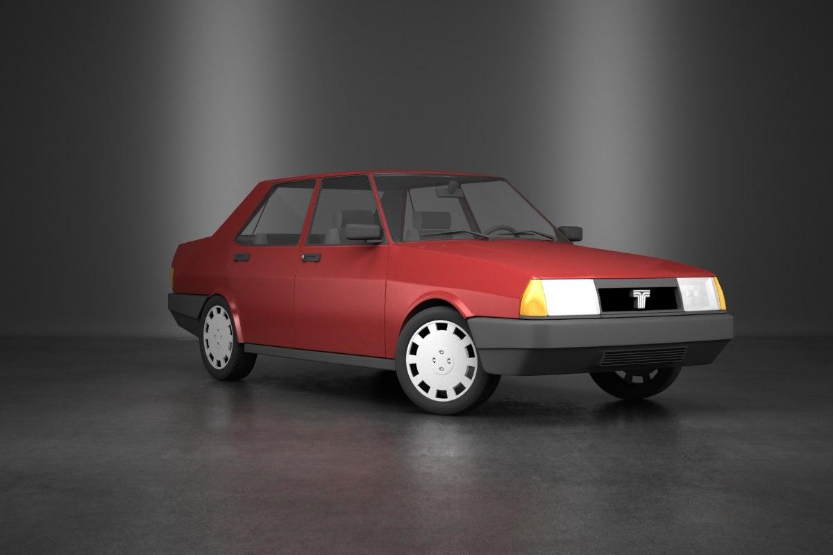 3d turkish car model