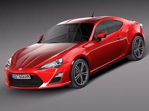 3d subaru 2013 sport coupe model