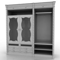 3d wardrobe giorgio piotto model