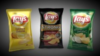 c4d potato chips