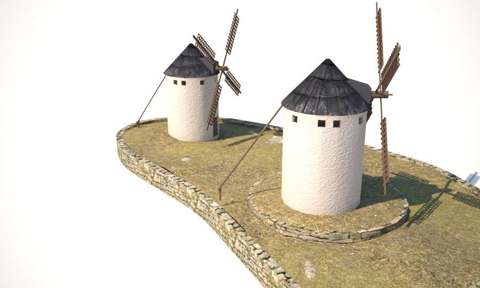 max spanish windmills
