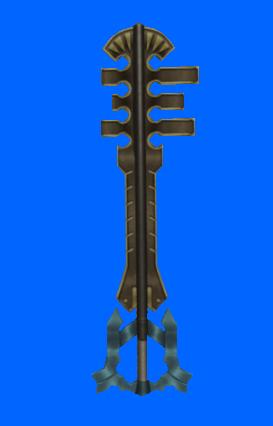 3d terra´s keyblade