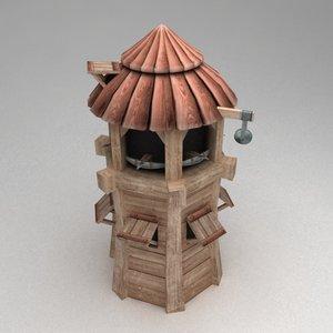 3ds observation defence tower