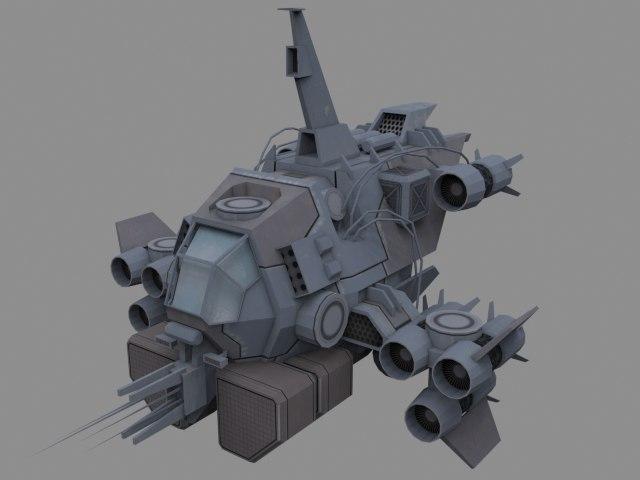 vandal modular fighter 3d 3ds