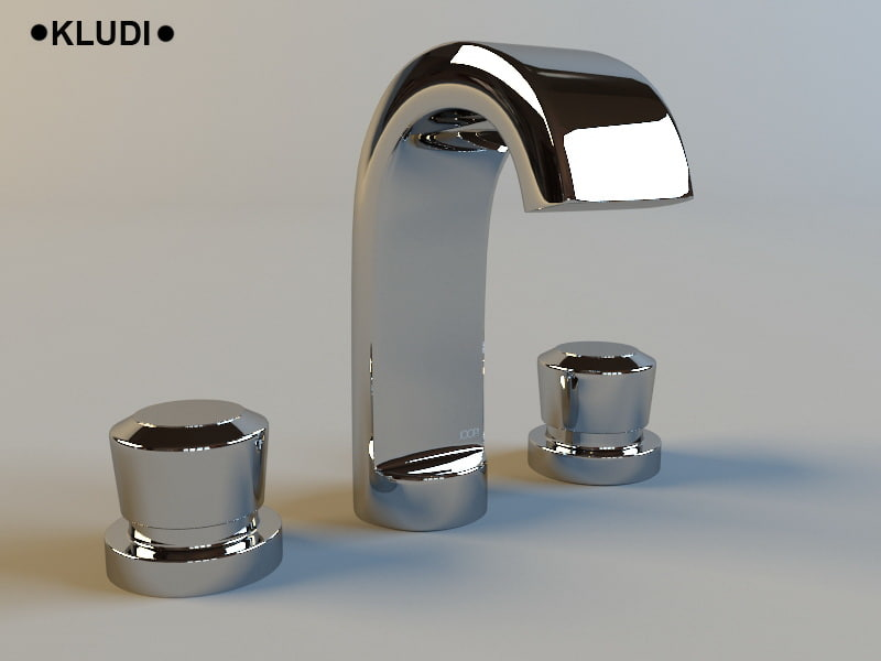 kludi joop! faucet washstand 3d 3ds