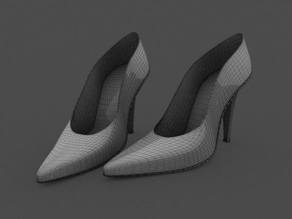 women shoes 3ds free