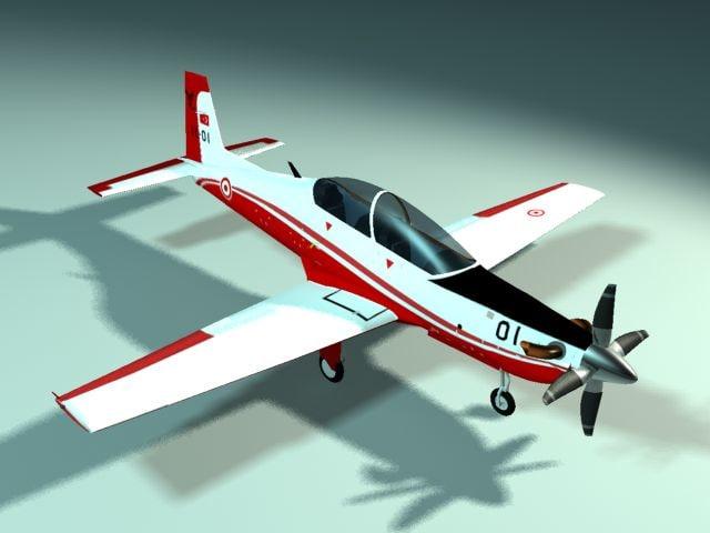 modern aircraft 3ds