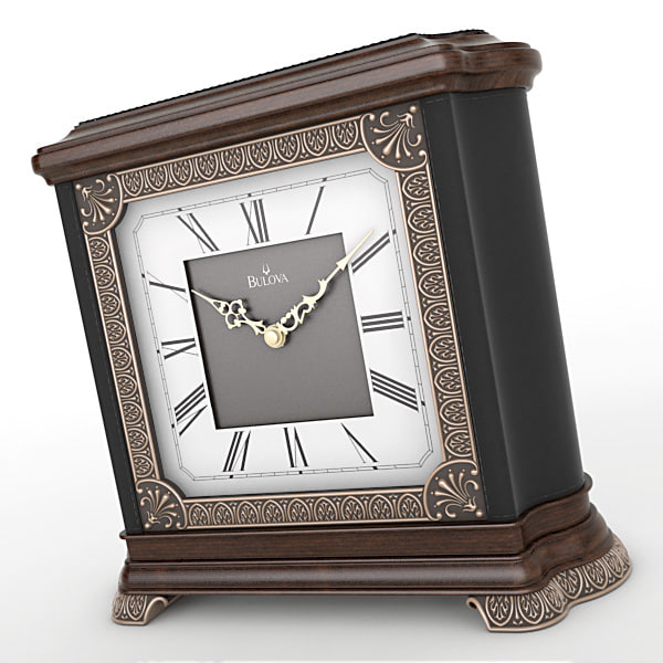 analog mantel clock 3d max