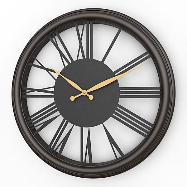 analog decorative wall clock lwo