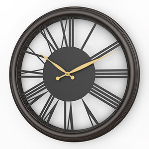 analog decorative wall clock lwo
