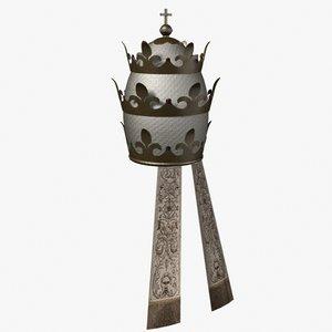 papal tiara 3ds