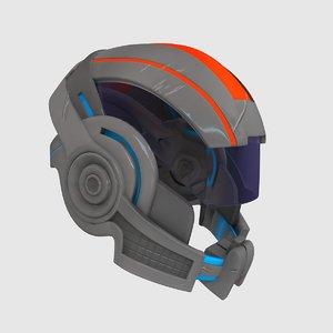 sci-fi modelled 3ds