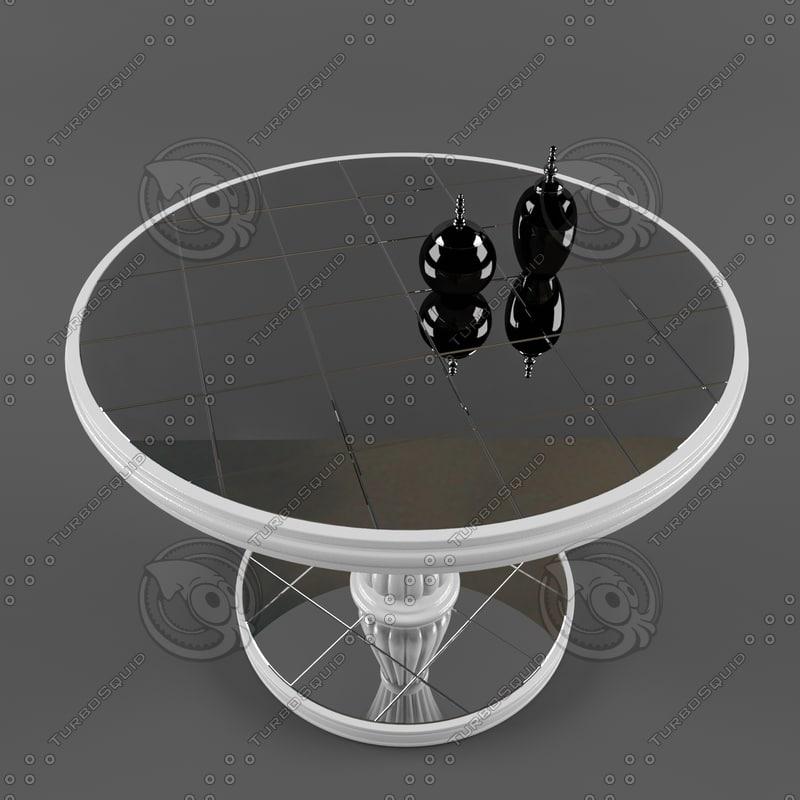 3dsmax mirror table