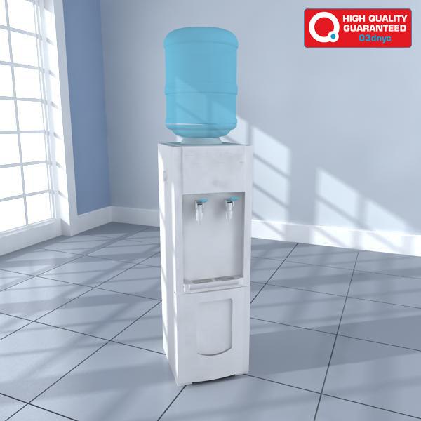 watercooler hq 3d model