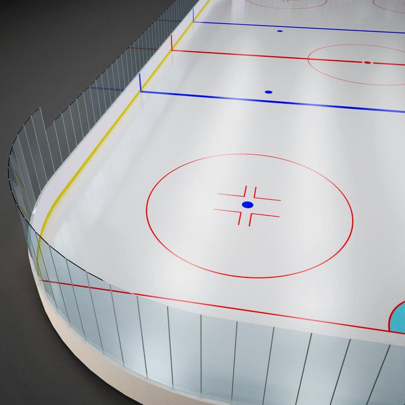 ice hockey field max