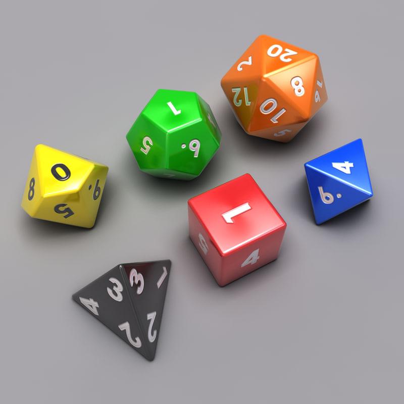 3d max set dice