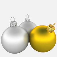Christmas Decorations Silver&Gold