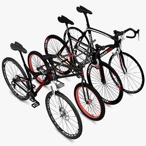 3d model cycling bikes