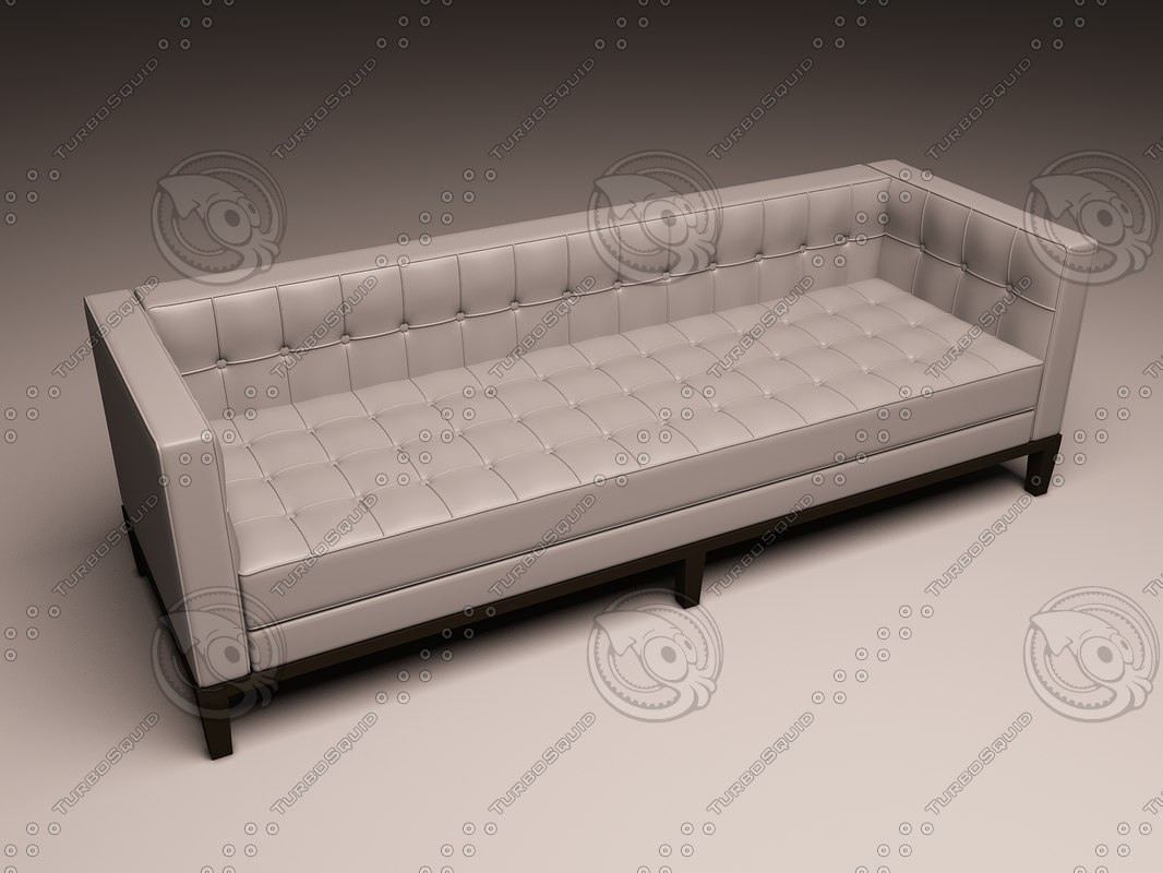 eichholtz sofa corbusier 3d model