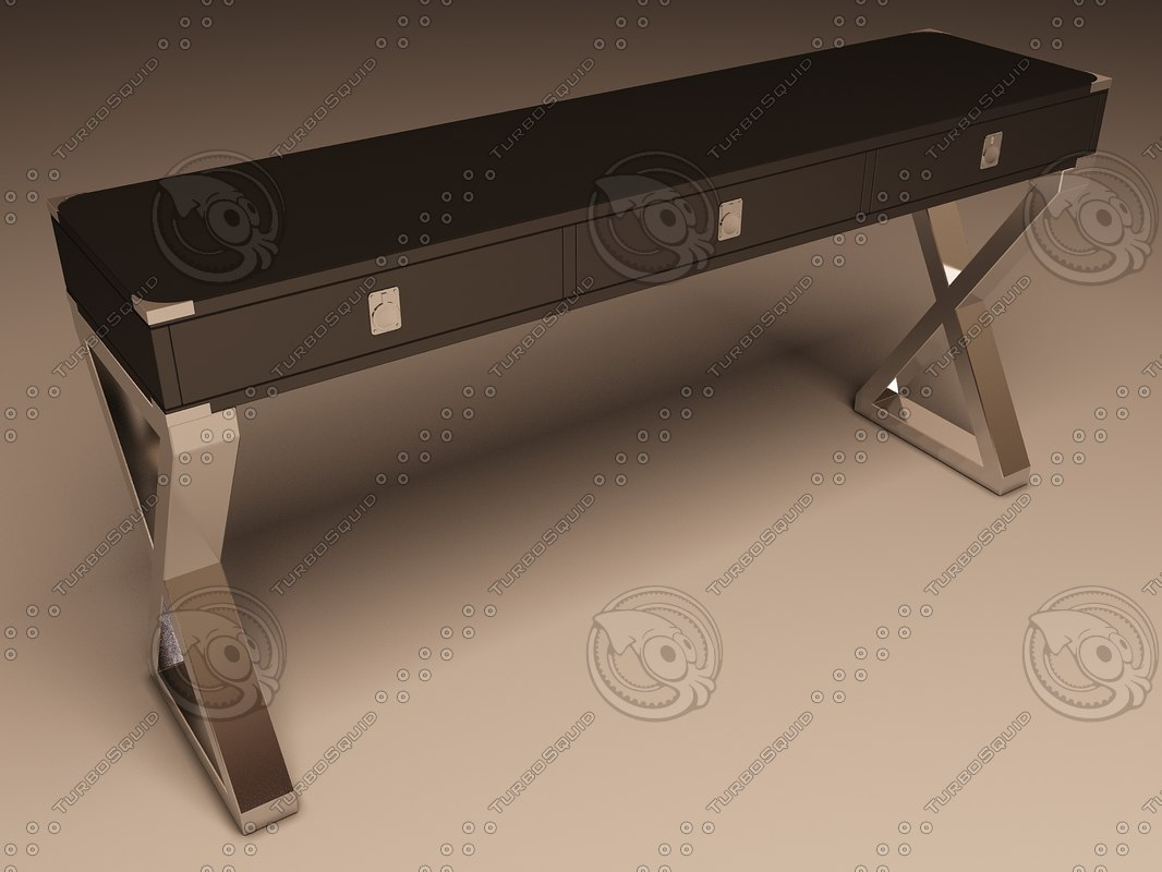 eichholtz table console montana 3d 3ds