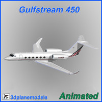 3d gulfstream g450