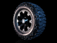 Giovanna D8V rim and Nitto Mud Grappler tyre