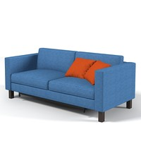 Ikea Modern Contemporary Extended Sofa