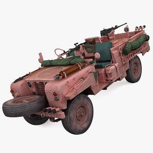land rover s2a sas 3d model