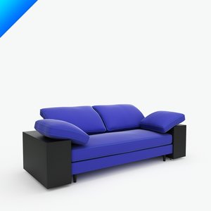 3d lota sofa interior