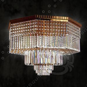 3d model lumi chandelier