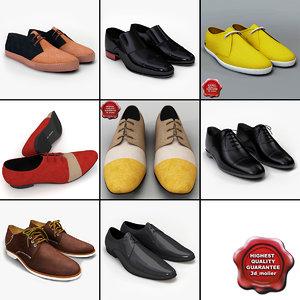 men shoes v9 3d 3ds