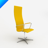 oxford chair design arne jacobsen obj