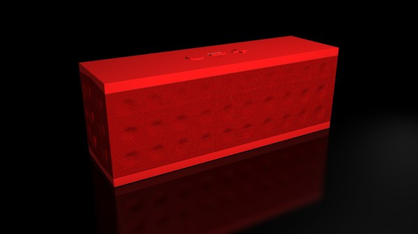 3d model of jambox speaker jawbone