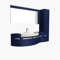 shelf washstand 3d model