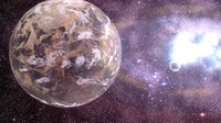 3d planets atmosphere