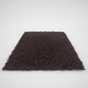 realistic carpet rug fur 3d max
