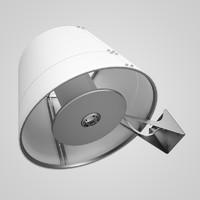 3d white wall lamp model