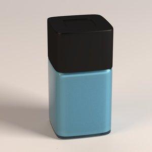 3d model eau d toilette